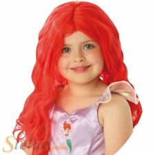 Official Ariel Wig Girls Mermaid Long Red Hair Disney Princess Rubies 9904