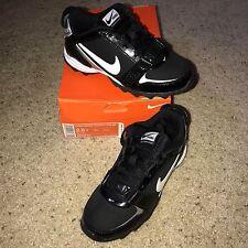 Nike LAND SHARK LEGACY LOW BG Black Youth CLEATS - 396262 - KIDS Sz 2.5 Y