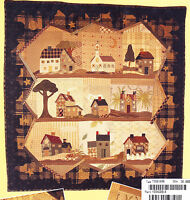 Good Night - applique & pieced quilt PATTERN - Yoko Saito