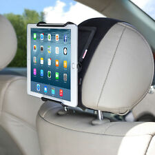 TFY Universal Car  Mount Holder with Angle- Adjustable Holding Clamp for Tablets