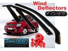 FIAT PANDA  2003 - 2012  Wind deflectors 5 doors  4.pc set  HEKO 15137