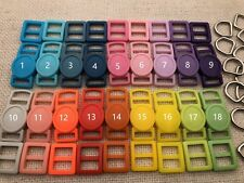 18 Sets- 3/8' (10mm) Cat Collar Hardware Kits- Cat Safety Buckles -18 colors