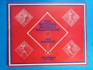 1957 THE NATIONAL BASEBALL HALL OF FAME YEARBOOK EX++