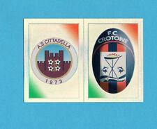PANINI CALCIATORI 2011-2012-Figurina n.511- CITTADELLA+CROTONE-SCUDETTO-NEW