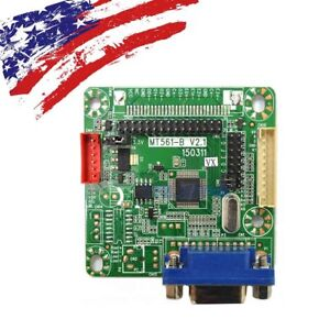 """MT561-B VGA LCD Controller Driver Board For 10.1""""~22"""" LVDS Interface LCD Screen"""