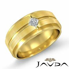 0.25ct 14k Yellow Gold Princess Diamond Solitaire Engagement Ring