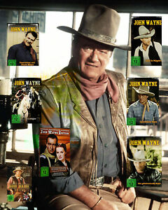 John Wayne in Farbe DVD Sammlung Box Neu OVP TOP WESTERN Klassiker