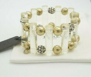 J.Crew Pave Ball & Bead Stretch Statement Bracelet *Sooo Beautiful* :D
