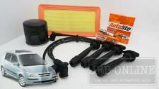Hyundai Getz TB G4ED 1.6 L Air Oil Filter Spark Plugs Ignition Leads SERVICE KIT