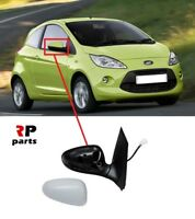 FOR FORD KA 2008-2015 NEW WING MIRROR ELECTRIC HEATED PRIMED 7 PIN RIGHT O/S LHD