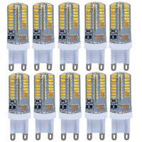 10 x G9 5W 64 LED 3014 SMD Lampara Bombilla Silicone Crystal Bulb AC 220-240V