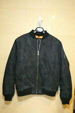 Schott NYC Men Nylon Flight MA-1 Jacket 9628 Sz: M