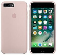 Genuine Apple Copertina per iPhone 7 Plus-ROSA IN SILICONE SABBIA MMT02ZM / A