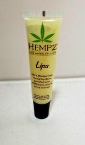 HEMPZ Pure Ultra Moisturizing Herbal LIP BALM Travel Size .44 Oz  NEW