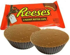 Hershey's Reeses Peanut Butter Giant Half Pound Cups 2 x 8oz Ideal Gift