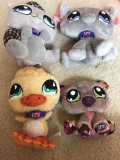 4 LPS Littest Pet Shop Stuff Toys Lot
