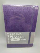 Legend Planner Undated Daily 90 Day Planner Purple New Amp Sealed
