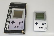 Nintendo Gameboy Pocket Silver Boxed Handheld Console