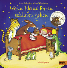 Wenn kleine Bären schlafen gehen Ab 3 Jahren mit Klappen Einschlafen + BONUS
