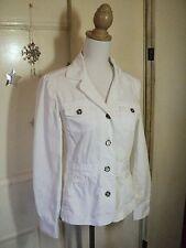 laura ashley white jacket  cotton summer