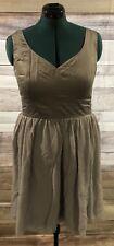 Tevolio Women's Gray  Dress Size 14 Knee Length Formal NWT LBB76
