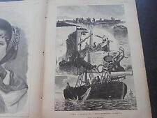 1884 Zeitungsdruck 231  / Quarnero Kvarner-Bucht Rijeka