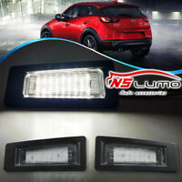 2x18 SMD LED Number License Plate Lights Lamp For Mazda 3 (Axela) 2016 2017 2018