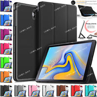Leather Flip Smart Stand Case Cover For Samsung Galaxy Tab A 10.5 Inch T590 T595