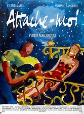 TIE ME UP! TIE ME DOWN! 1990 Victoria Abril, Pedro Almodovar FRENCH POSTER