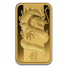 2012 ~ 5~GRAM ~ .9999 GOLD ~ YEAR of the DRAGON ~ PAMP SUISSE ~ SEALED ~ $288.88