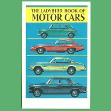The Ladybird Book Of Motor Cars - Book Cover Postcard