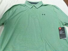 NWT Under Armour Heat Gear loose fit polo, men's XXL, green