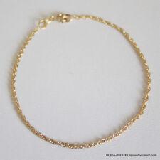 Bracelet Or 750 18k 18.5cm 1.7grs - Bijoux occasion