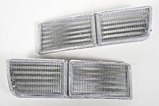 93-98 Vw Mk3 Jetta Golf Bumper REFLECTORS Clear SET