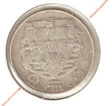 Portogallo 2,5 Escudo 1932  Argento BC