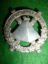 M161 - The Scots Fusiliers of Canada / North Waterloo Cap Badge WW2