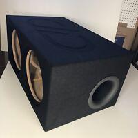 Dual 12 Ported Box 2 Digital Designs Redline 212 512 612 712 1512 2512 Series DD