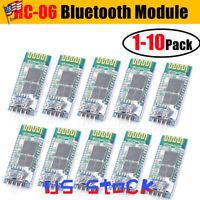 4 Pin Slave HC-06 5V Wireless Bluetooth Transeiver RF Master Module for Arduino