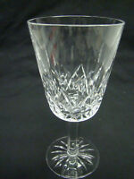 Waterford Lismore Water Goblet Glasses 6 7/8in Clear Cut Crystal