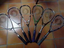 RACCHETTA SQUASH OLIVER - 6 racchette da squash marca Oliver in carbonio