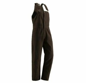Women's Berne Workwear Washed Insulated Bib Overalls MED FREE SHIPPING (C2)