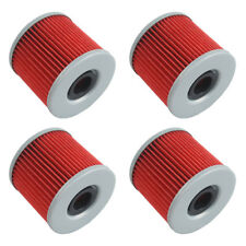 4 PCS Oil Filter For Suzuki GS300L GS450G GS450E GS500E GS500F GS500 GR650 NEW