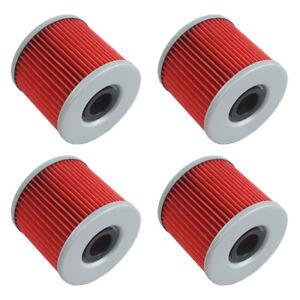 4 PCS Oil Filter Fit For Suzuki GS300L GS450G GS450E GS500E GS500F GS500 GR650