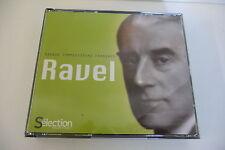 RAVEL COFFRET 4 CD READER'S DIGEST GRANDS COMPOSITEURS FRANCAIS.