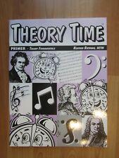 Rathnau Theory Time Primer Level, New, piano theory workbook