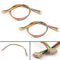 2x DF13 6 Position 6Pin Connector For APM2.6 Pixhawk PX4 Flight Control Cable B1