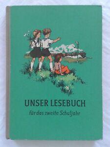 Unser Lesebuch für das 2. Schuljahr, DDR-Lehrbuch 1958, Fibel