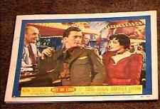 ACT OF LOVE 1953 LOBBY CARD #2 KIRK DOUGLAS