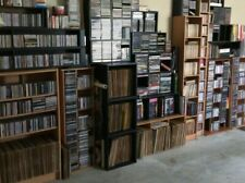 Large collection of LP's & 45's for sale as lot