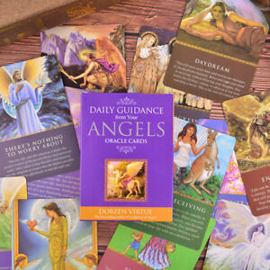 Tarot Cards Daily Guidance Angel Oracle Card Deck Table Game Playing Card_T1